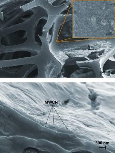 Recubrimiento ignífugo hecho de nanotubos de carbono